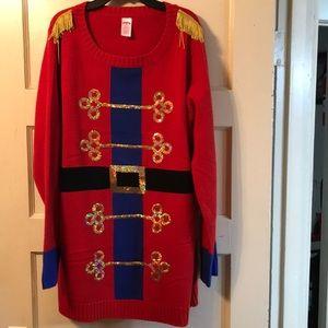Nutcracker Christmas sweater
